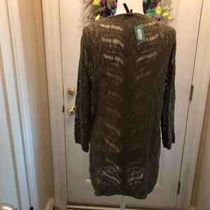 NWT MAURICES OPEN FRONT CARDIGAN - XXL